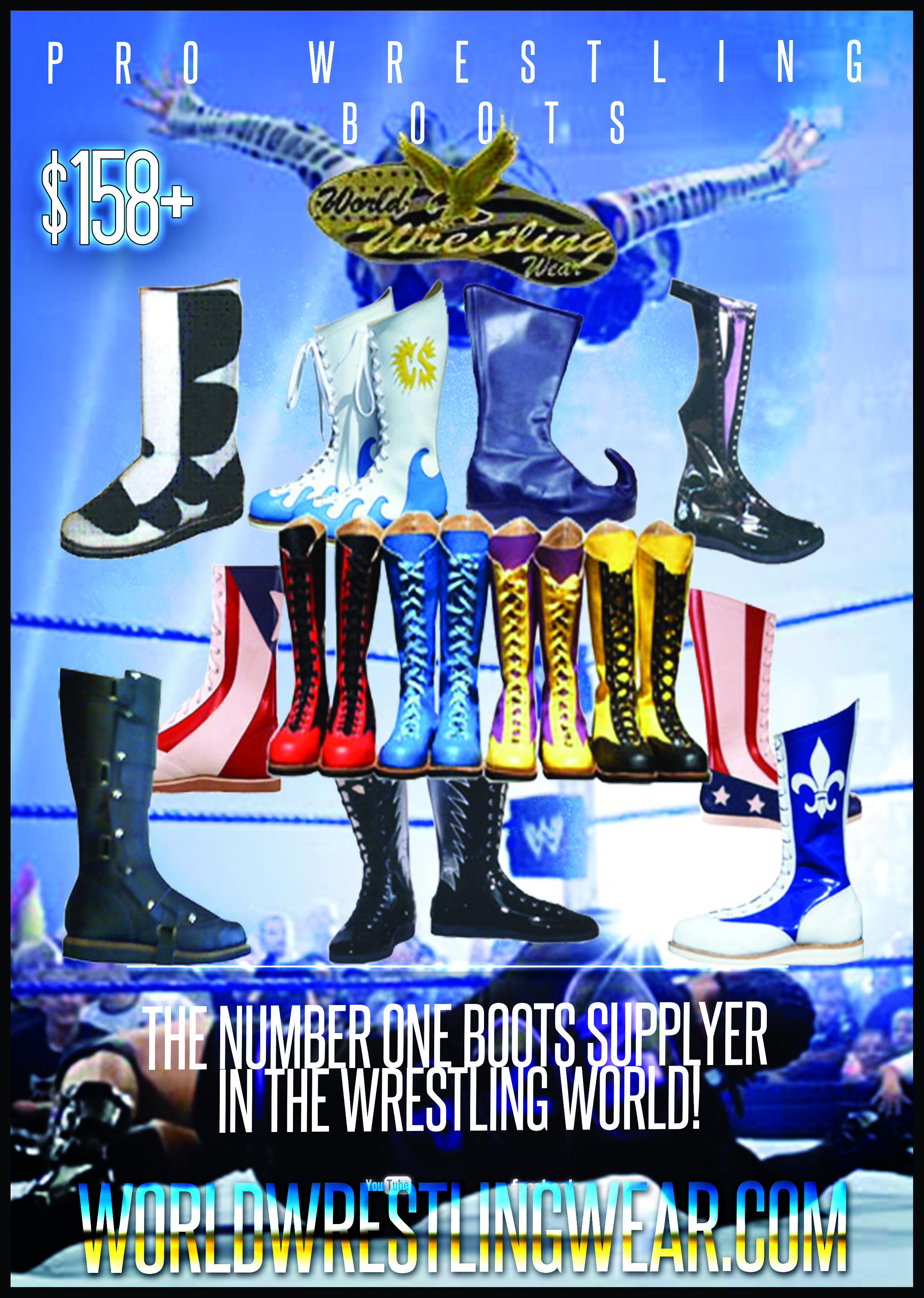 WORLD WRESTLING WEAR - THE NUMBER ONE